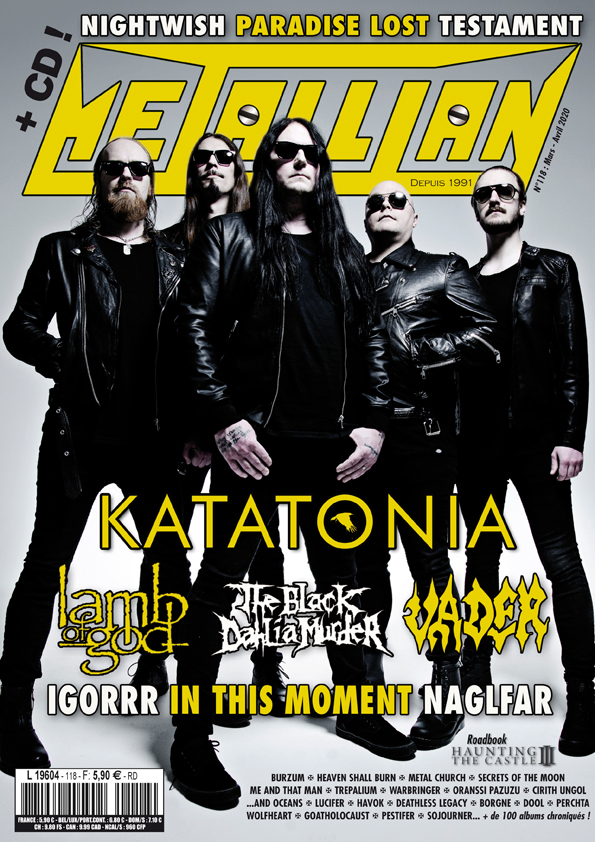 METALLIAN Magazine 118