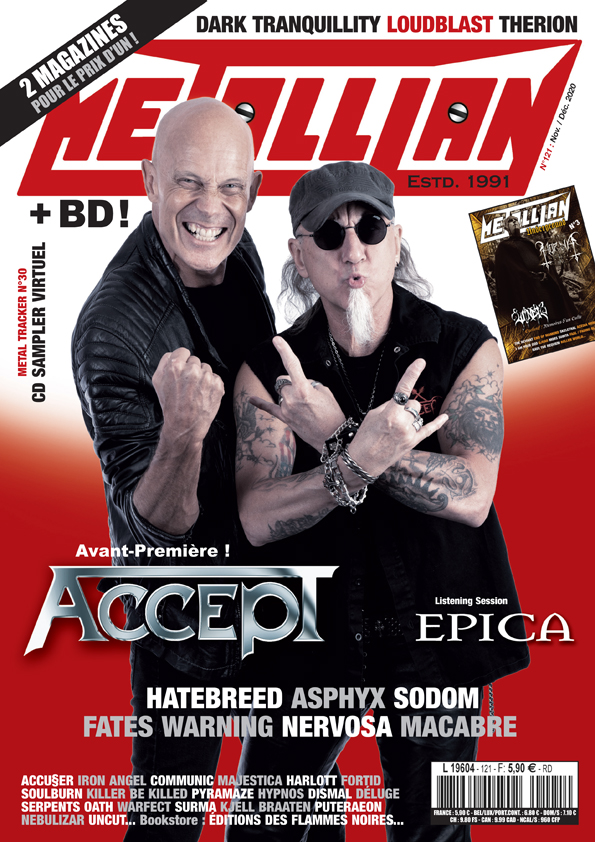 METALLIAN Magazine 121