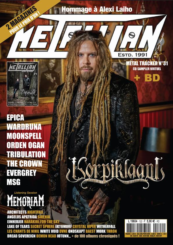METALLIAN Magazine 122